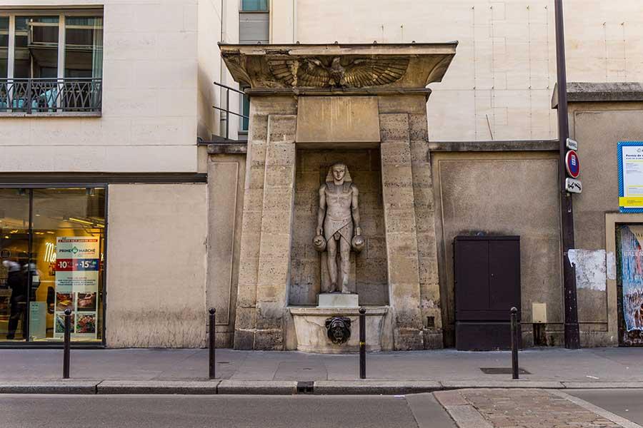Fellah fountain in Paris 42 rue de Sevres