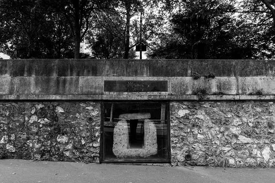 aqueduc romain vestige avenue Reille