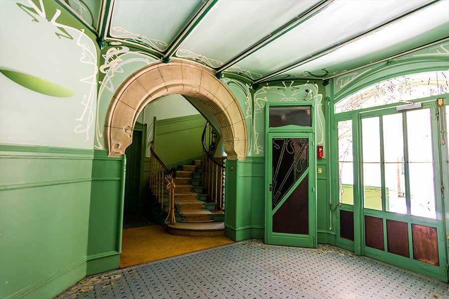 castel béranger hall d'entrée