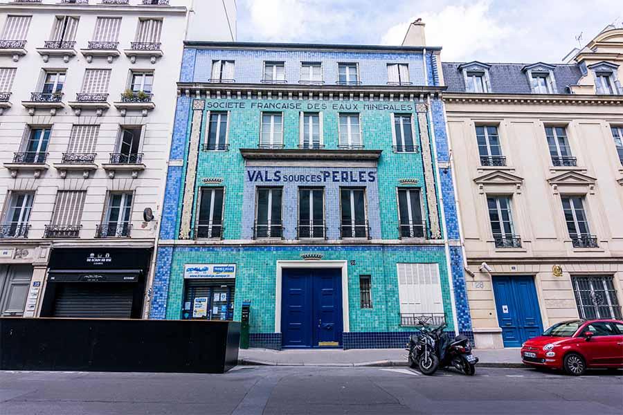 Immeuble société française des Eaux minérales