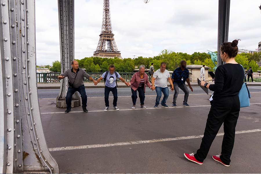 treasure hunt for adult eiffel tower district