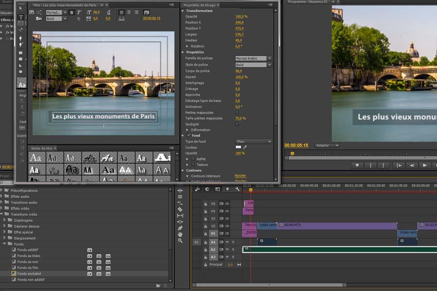 adobe premiere pro course software capture