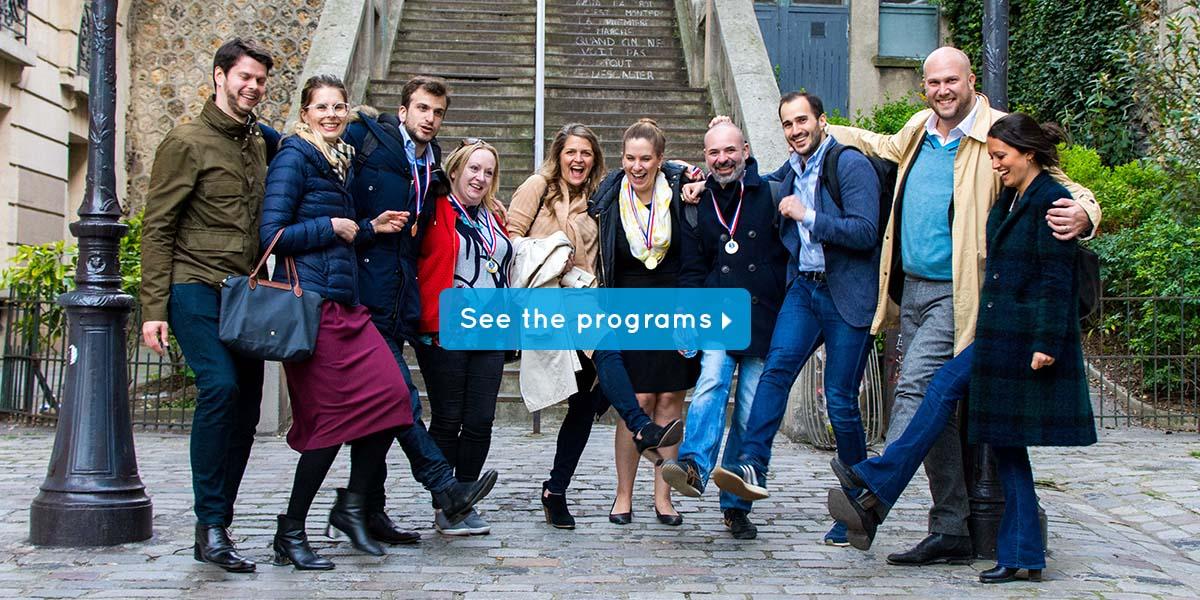 original team building in paris our programs
