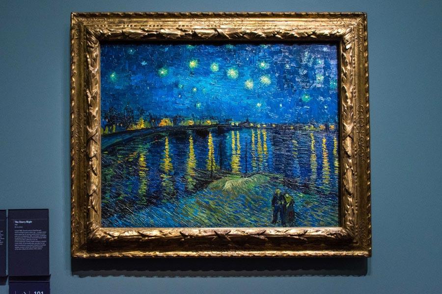 main work orsay Starry Night Van-Gogh