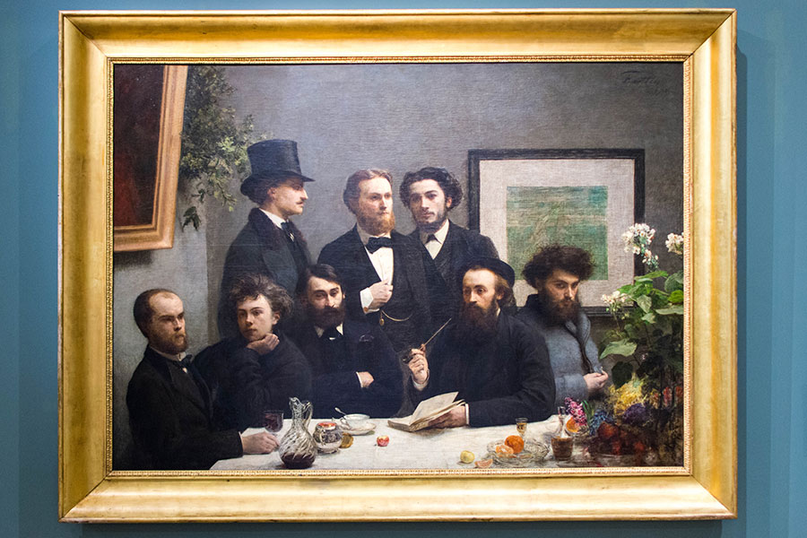 orsay painting by the table henri-fantin-latour