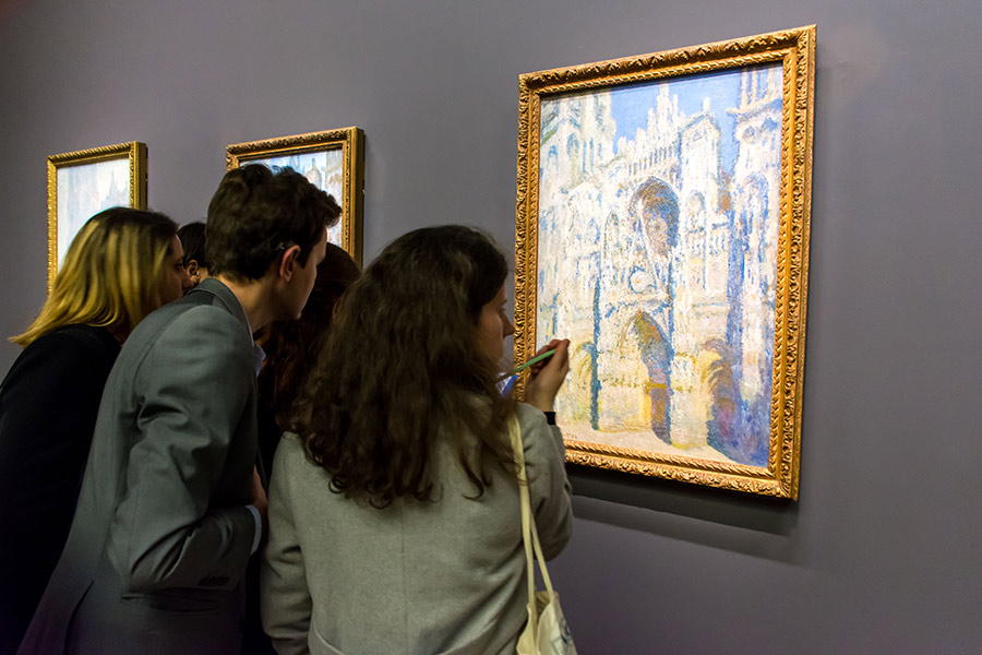 claude monet cathedrals