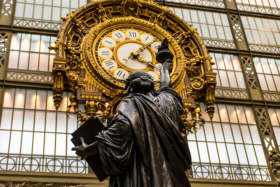 orsay museum bartholdi statue of liberty