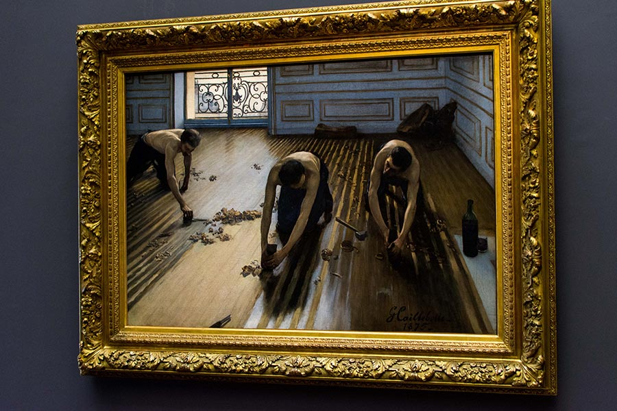 caillebotte floors scrapers exposition musée orsay