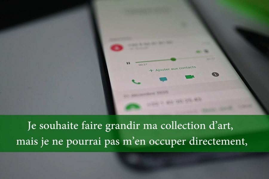 Louvre en ligne message vocale mission