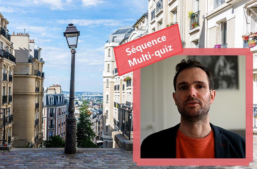 Animation à distance Montmartre