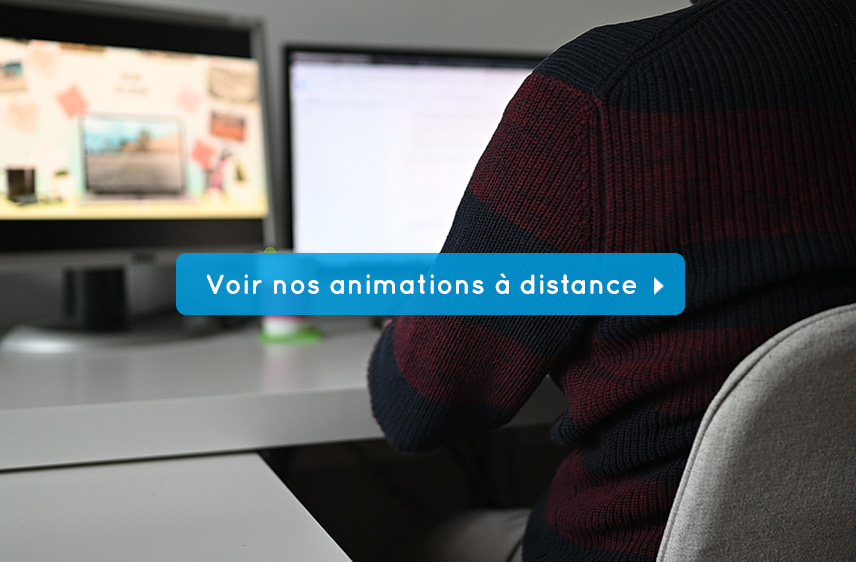 animation team building à distance