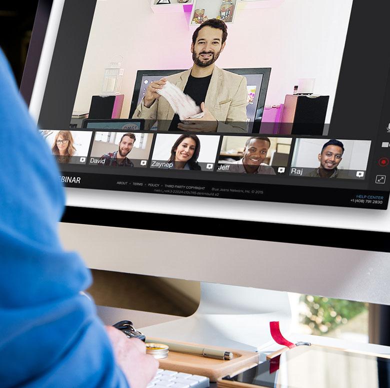 digital mentalism show: Hybrid and online team building