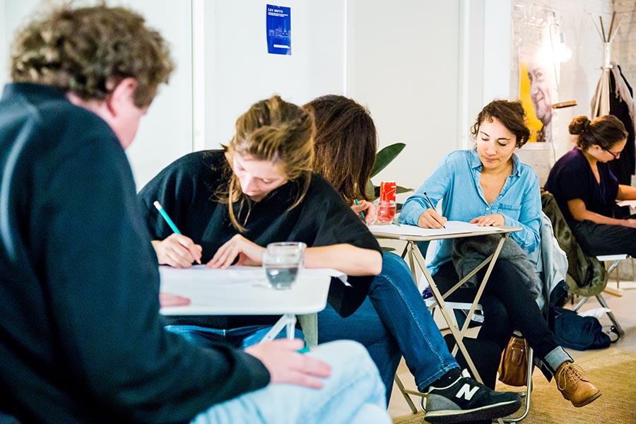 écriture créative - créative writing team building en présentiel et en ligne