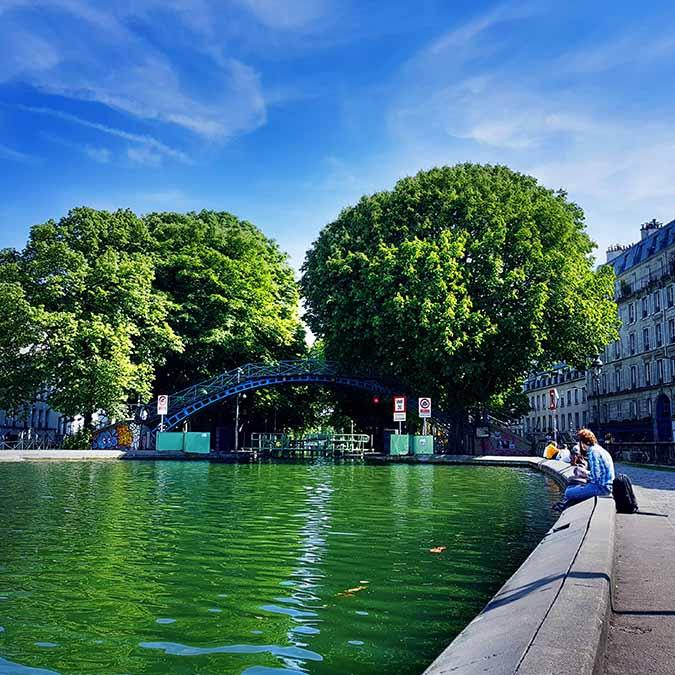 Chasse au trésor Paris canal Saint Martin team building 8 à 60 personnes