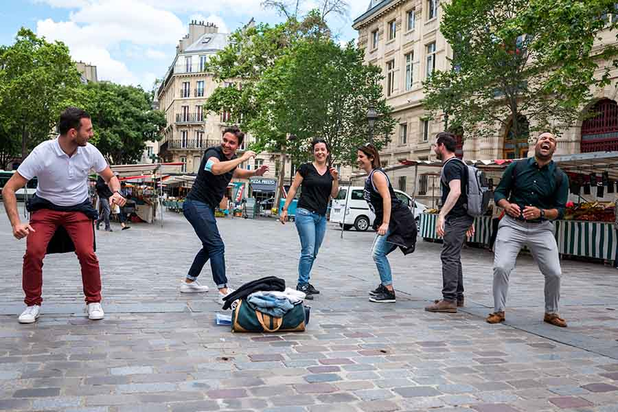 team building quartier Marais
