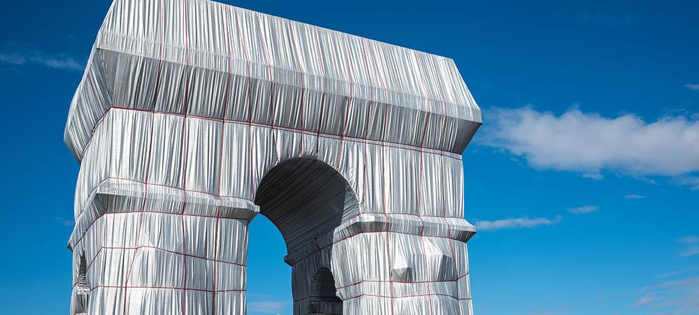 Arc de Triomphe emballé une œuvre de Christo & Jeanne-Claude à redécouvrir en images